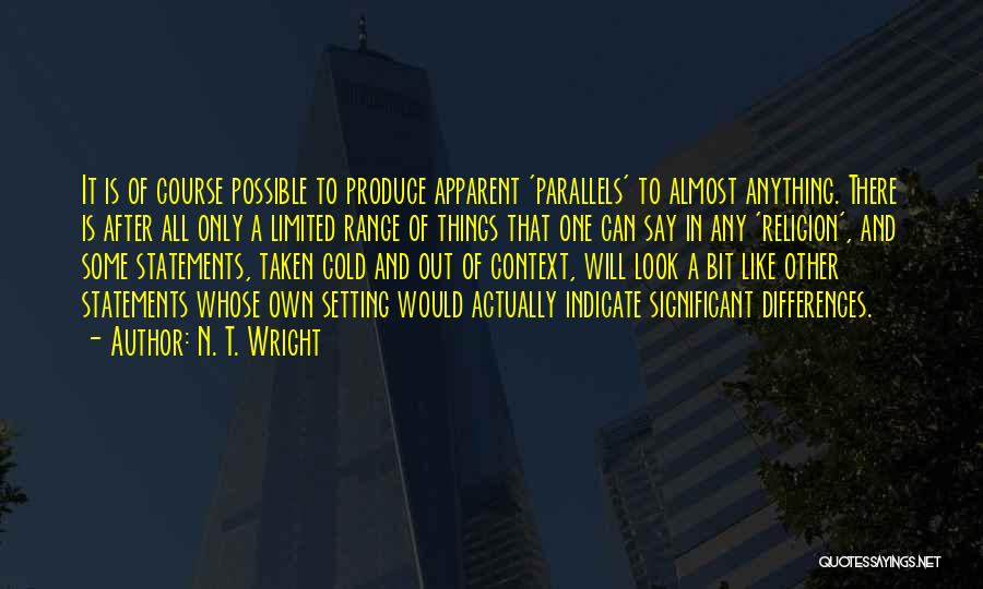 Setting A Course Quotes By N. T. Wright