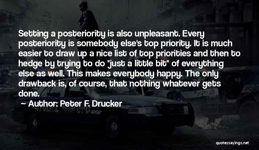 Setting A Course Quotes By Peter F. Drucker