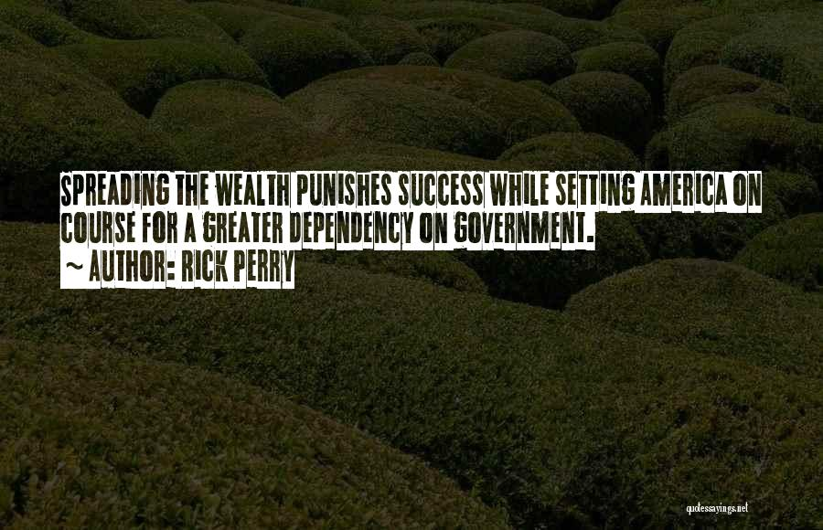 Setting A Course Quotes By Rick Perry