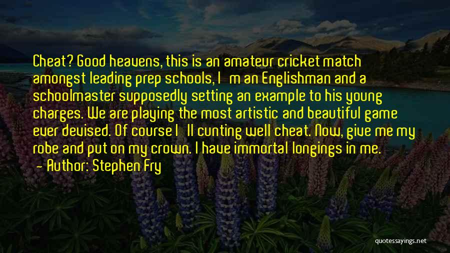 Setting A Course Quotes By Stephen Fry