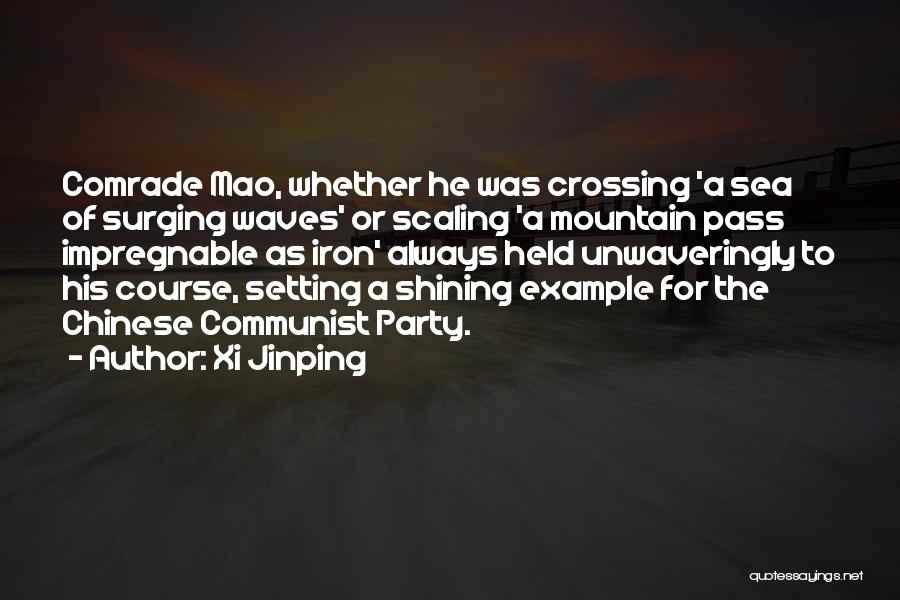 Setting A Course Quotes By Xi Jinping