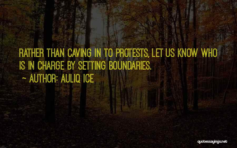 Setting Boundaries Quotes By Auliq Ice