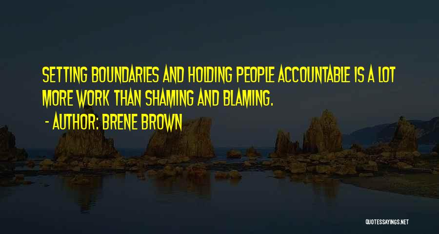 Setting Boundaries Quotes By Brene Brown