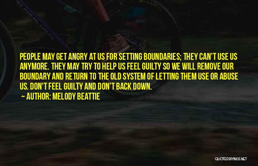 Setting Boundaries Quotes By Melody Beattie