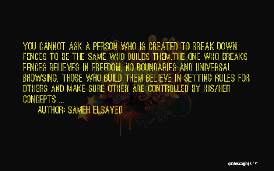 Setting Boundaries Quotes By Sameh Elsayed