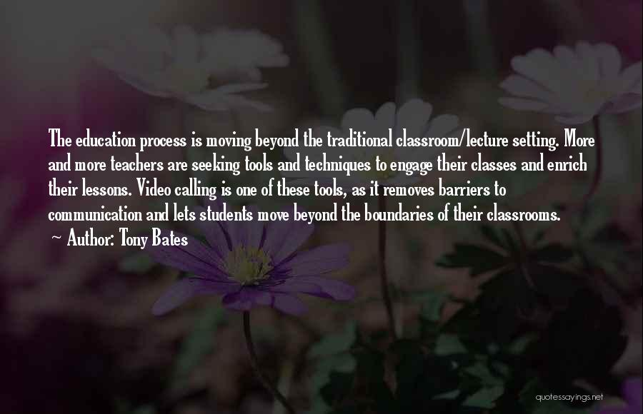 Setting Boundaries Quotes By Tony Bates