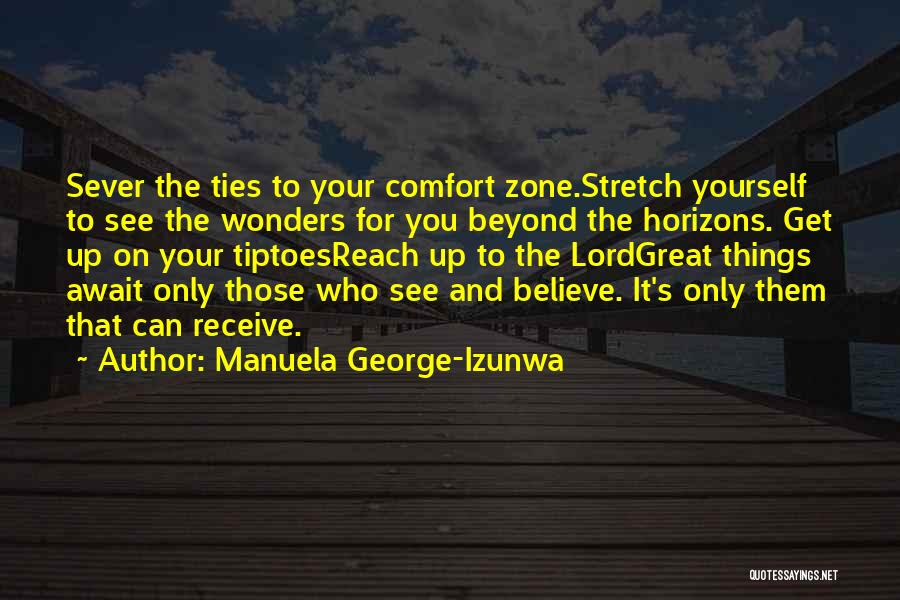 Sever All Ties Quotes By Manuela George-Izunwa