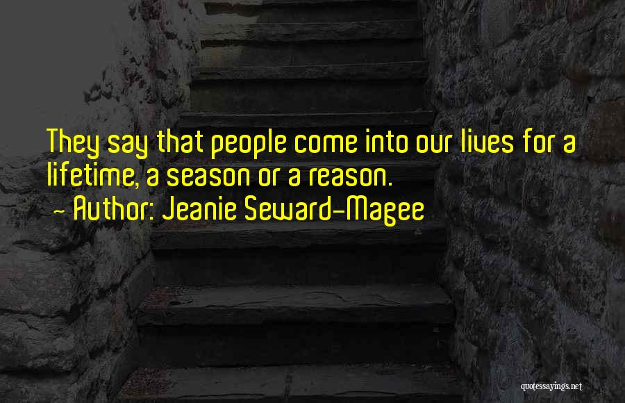 Seward Quotes By Jeanie Seward-Magee