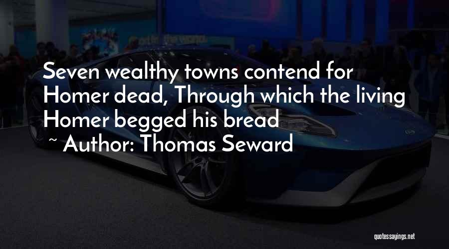 Seward Quotes By Thomas Seward