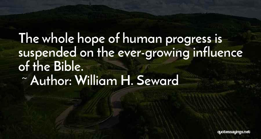 Seward Quotes By William H. Seward