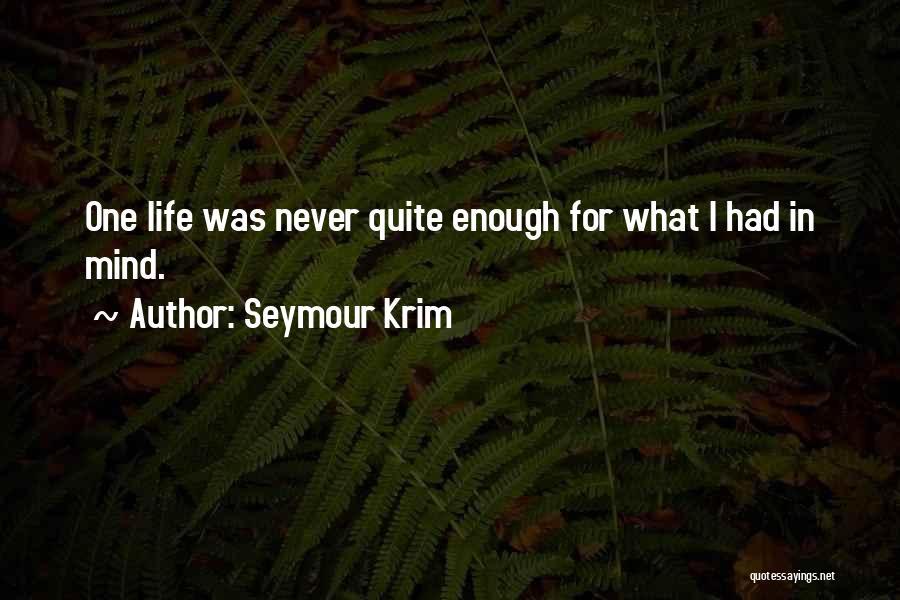 Seymour Krim Quotes 1299428