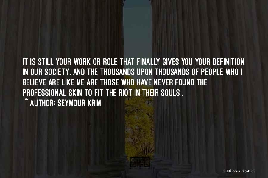 Seymour Krim Quotes 1463252