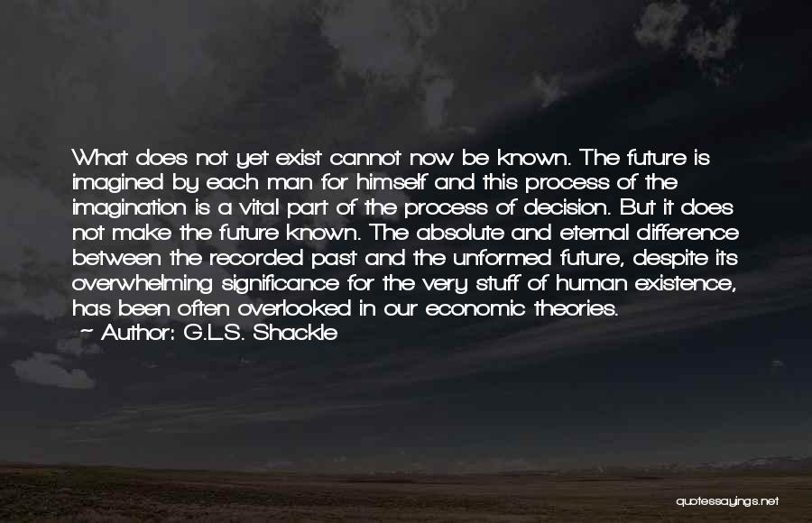Shackle Quotes By G.L.S. Shackle