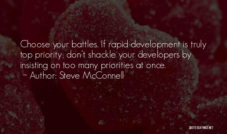 Shackle Quotes By Steve McConnell