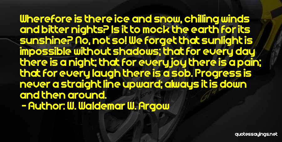 Shadows And Sunshine Quotes By W. Waldemar W. Argow