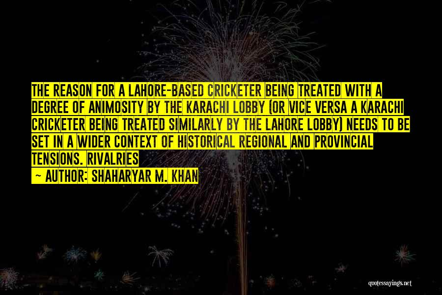 Shaharyar M. Khan Quotes 2148353