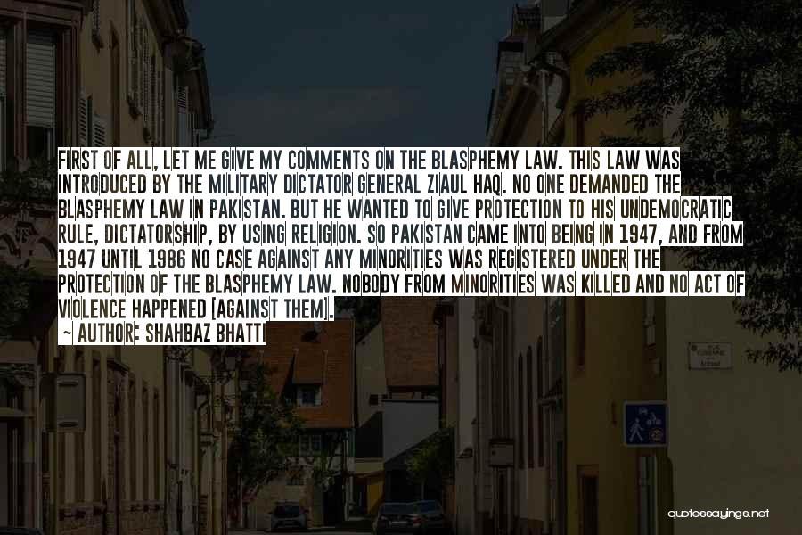 Shahbaz Bhatti Quotes 375903