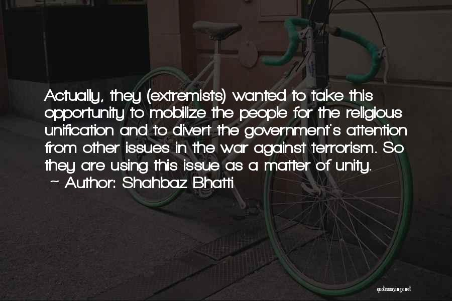 Shahbaz Bhatti Quotes 693143