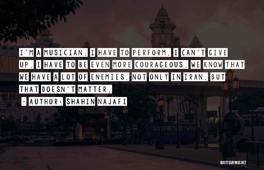 Shahin Najafi Quotes 2007578