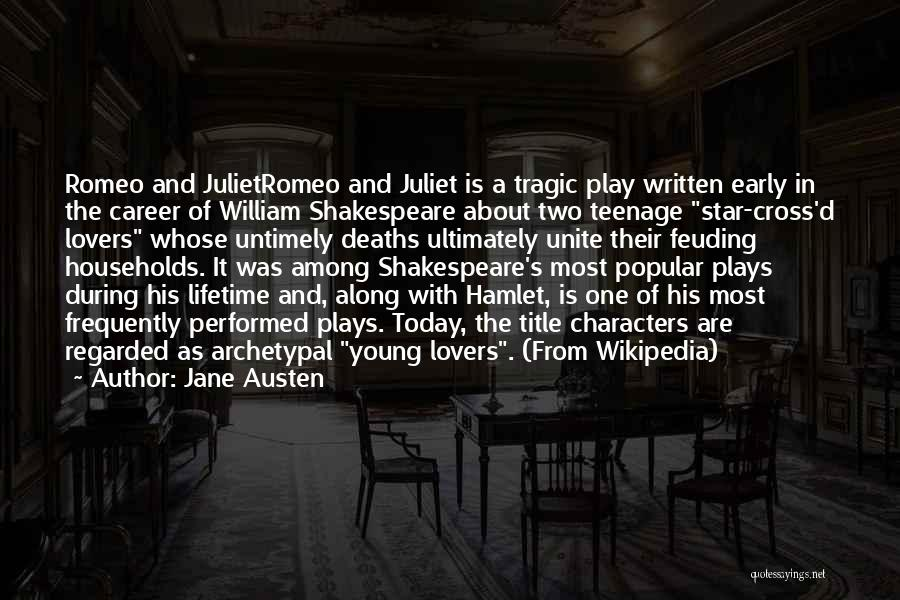 Shakespeare's Hamlet Quotes By Jane Austen