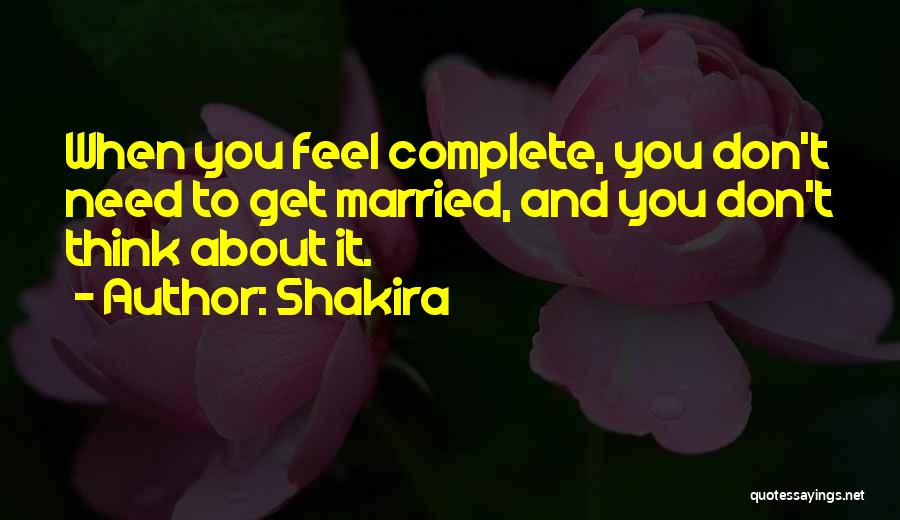 Shakira Quotes 692789