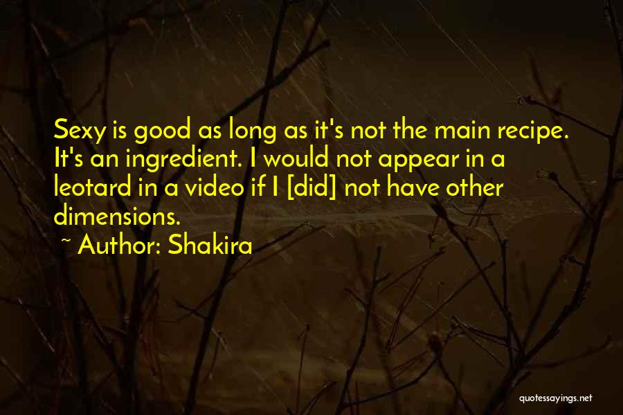 Shakira Quotes 840627