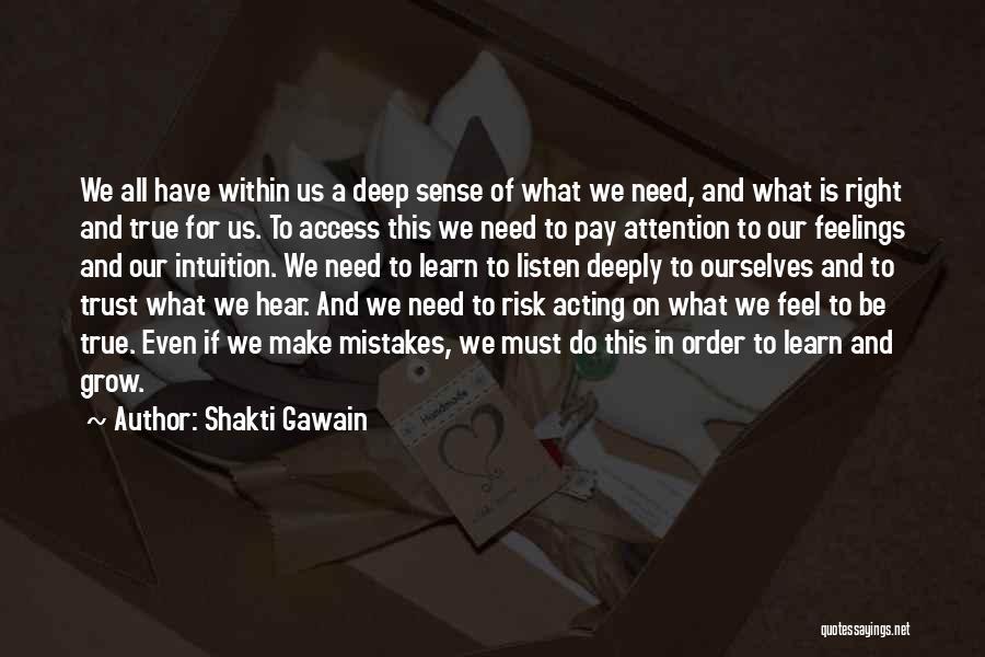 Shakti Gawain Quotes 120095