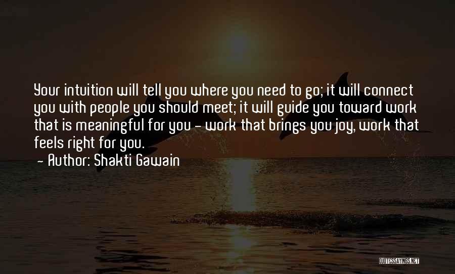 Shakti Gawain Quotes 1421863