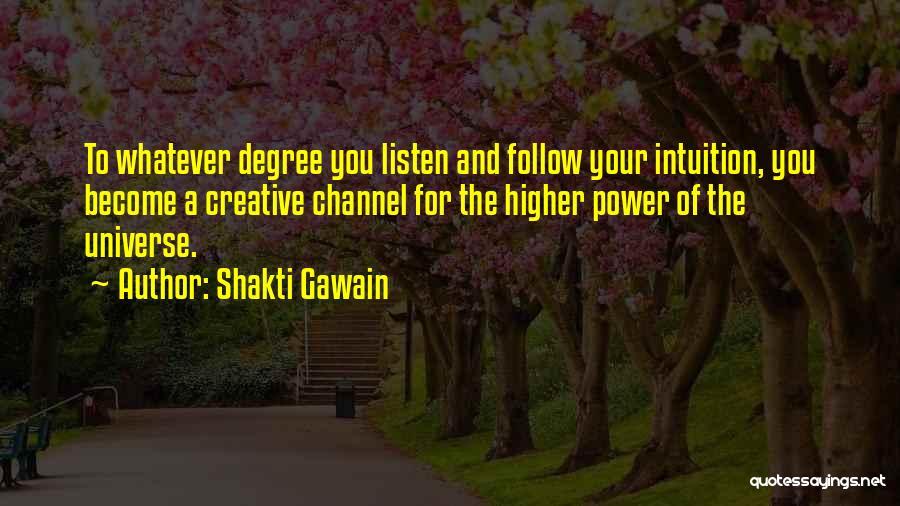 Shakti Gawain Quotes 194396