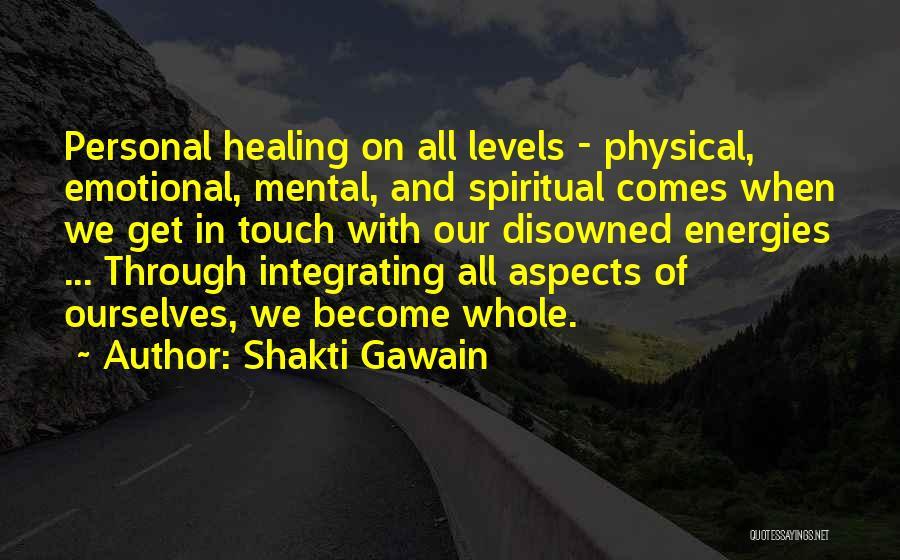 Shakti Gawain Quotes 335574
