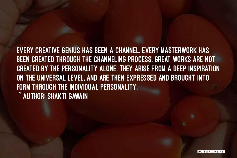 Shakti Gawain Quotes 347741