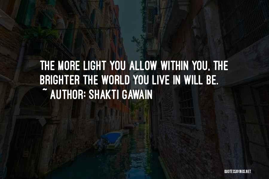 Shakti Gawain Quotes 636991
