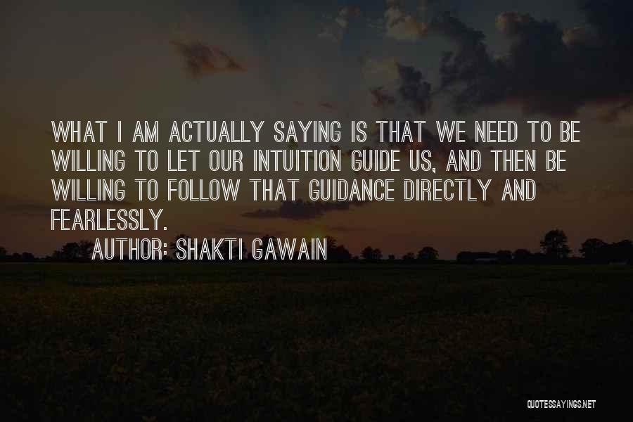 Shakti Gawain Quotes 711117