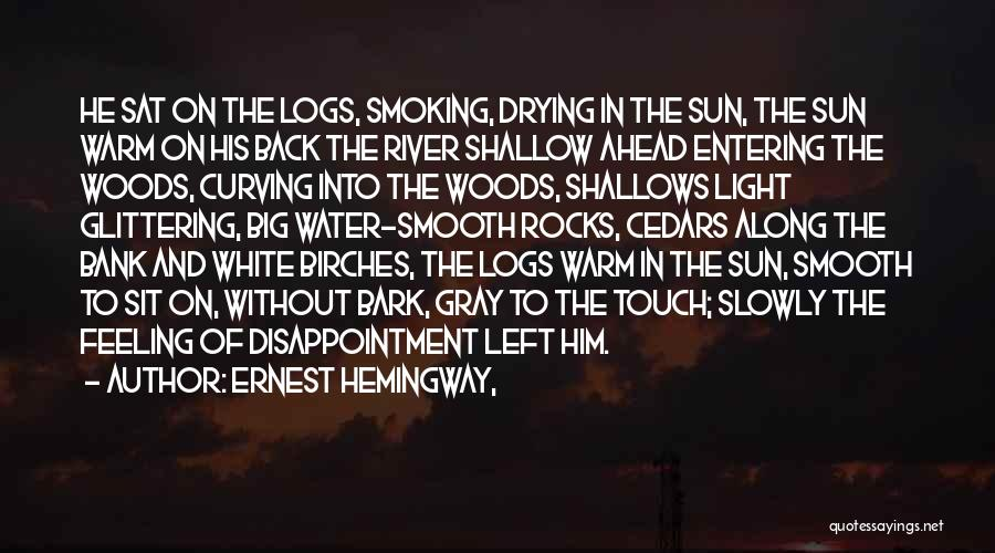 Shallow River Quotes By Ernest Hemingway,