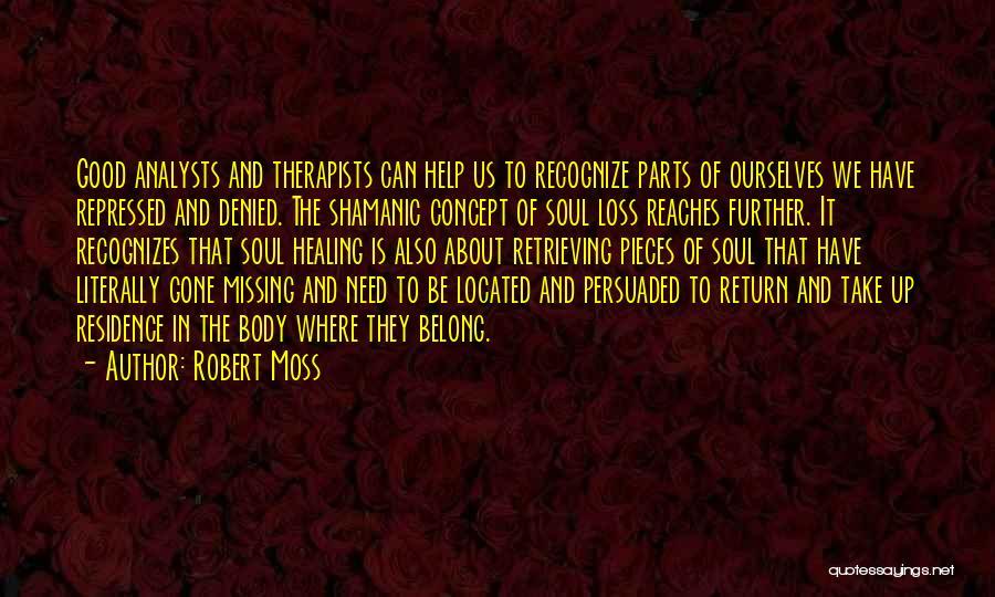 Shamanic Healing Quotes By Robert Moss