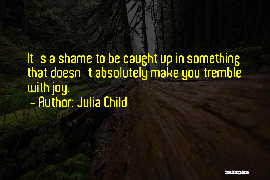 Shame In You Quotes By Julia Child