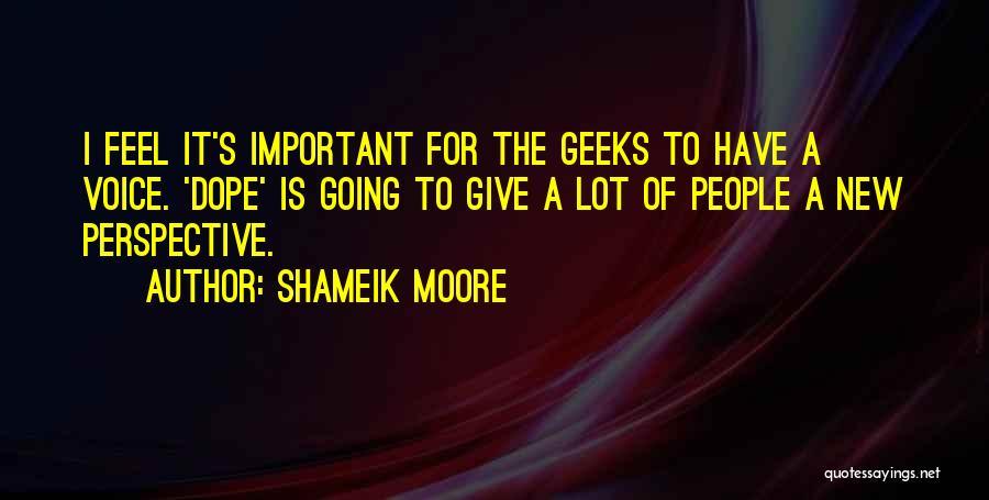 Shameik Moore Quotes 2048470