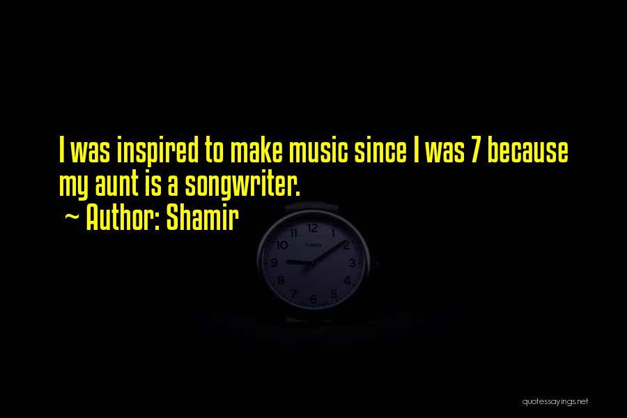 Shamir Quotes 681315