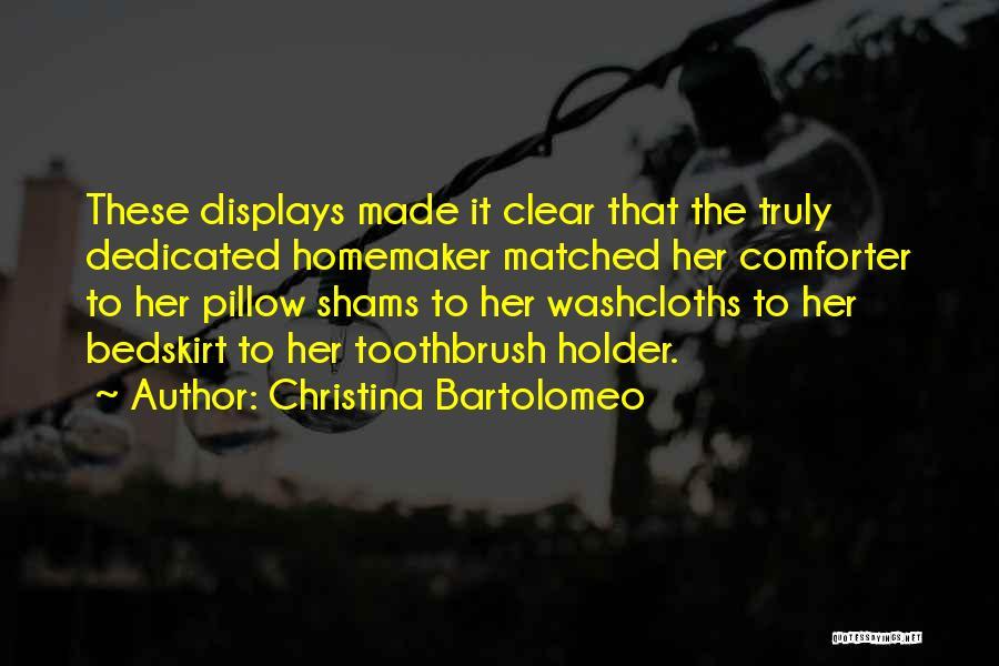 Shams Quotes By Christina Bartolomeo