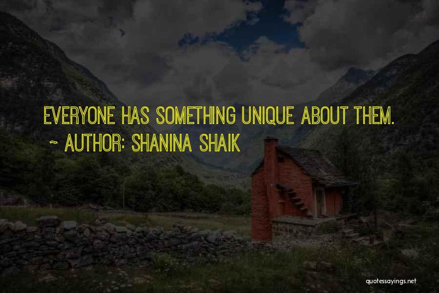 Shanina Shaik Quotes 221368