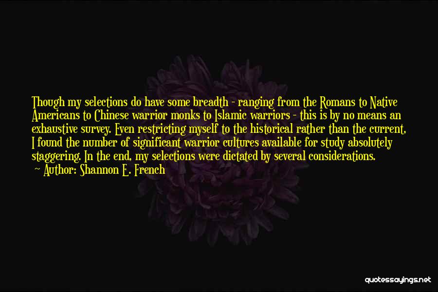 Shannon E. French Quotes 1993667