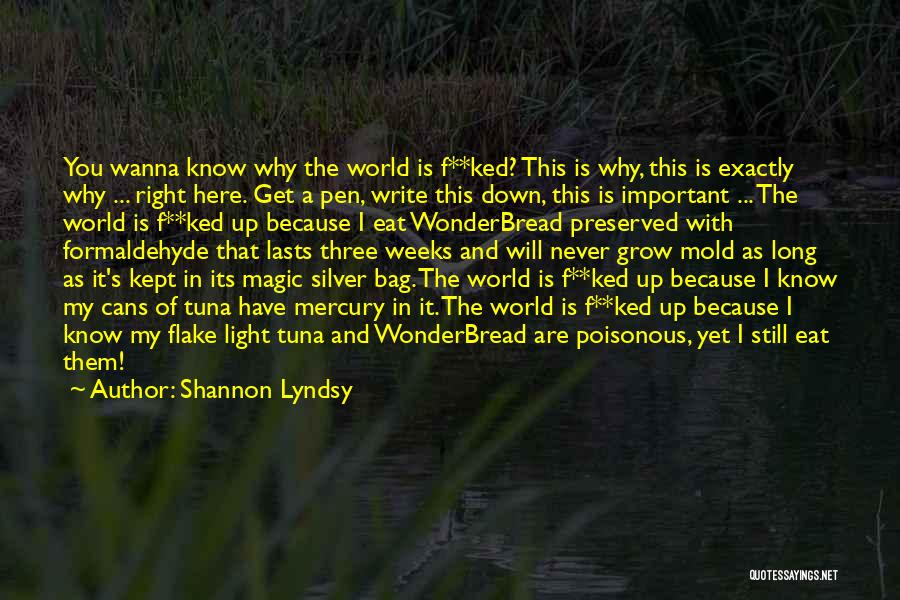 Shannon Lyndsy Quotes 1803992
