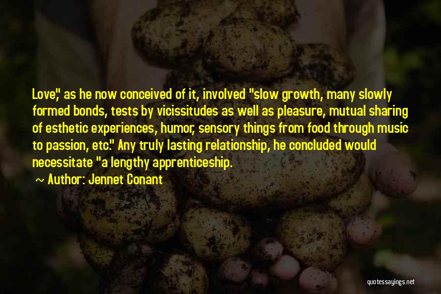 Sharing Food And Love Quotes By Jennet Conant