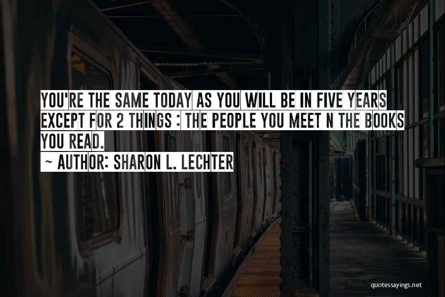 Sharon L. Lechter Quotes 1334044
