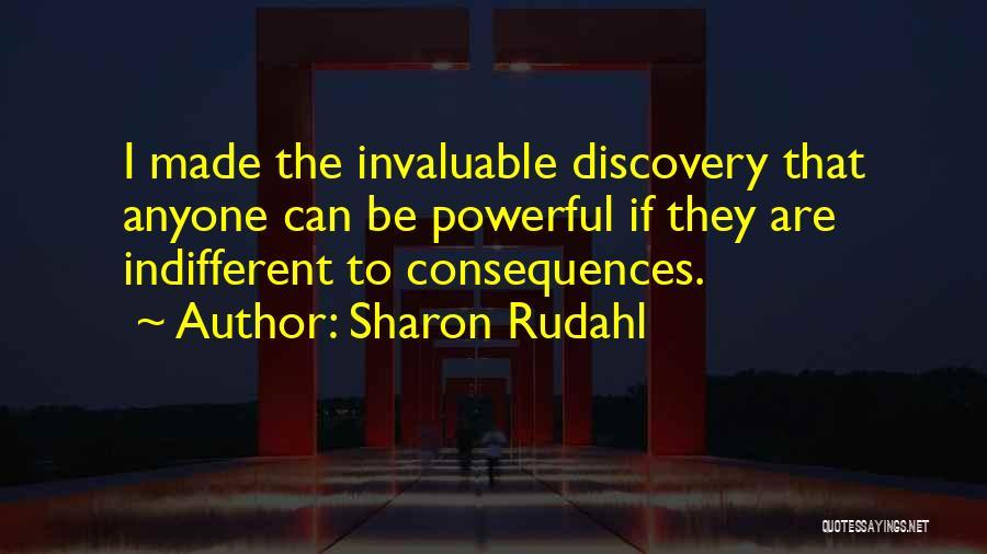 Sharon Rudahl Quotes 338315