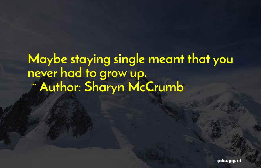 Sharyn McCrumb Quotes 185986