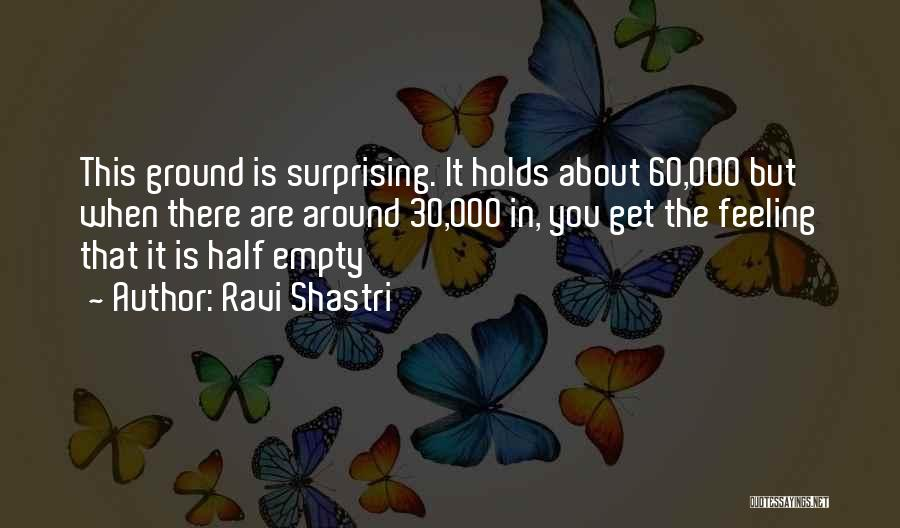 Shastri Quotes By Ravi Shastri