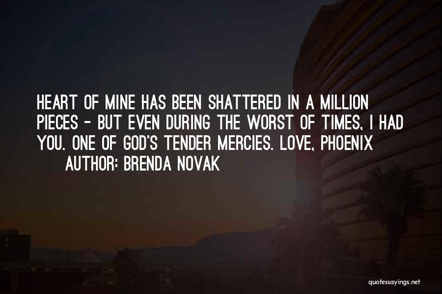 Shattered Pieces Quotes By Brenda Novak