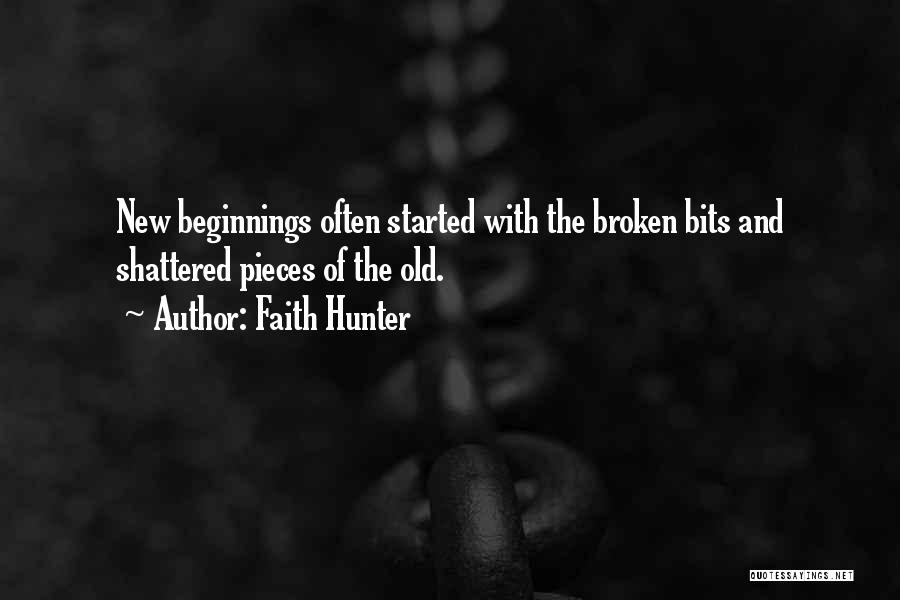 Shattered Pieces Quotes By Faith Hunter