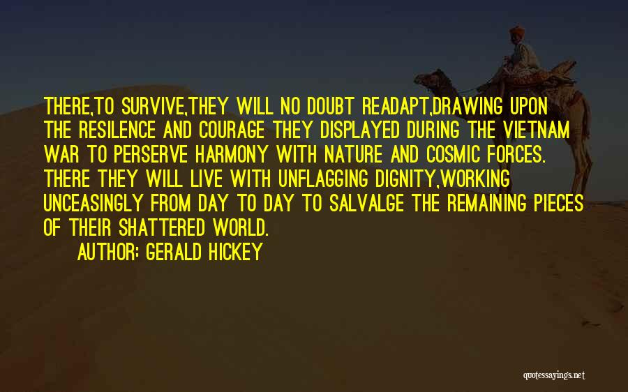 Shattered Pieces Quotes By Gerald Hickey